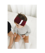 Load image into Gallery viewer, KNOT Classic Headwrap // Burgundy - KNOT Hairbands