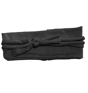 Layered Bow Headwrap // Black - KNOT Hairbands