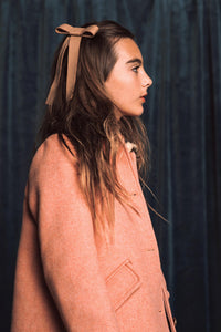 COZY BOW CLIP // Slate // YOUTH - KNOT Hairbands