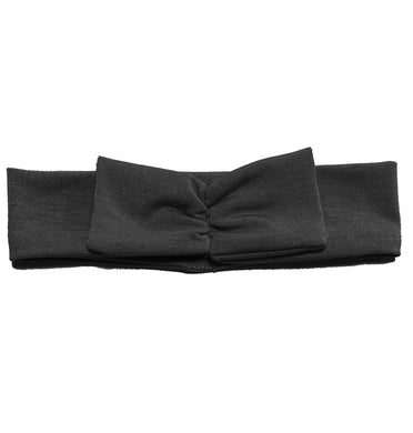 Mini Bow Headwrap // Black - KNOT Hairbands