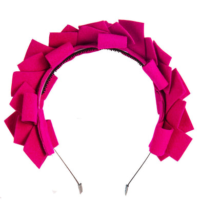 CLUSTER Headband // Magenta - KNOT Hairbands