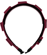 Load image into Gallery viewer, Pirouette Headband // BURGUNDY - KNOT Hairbands