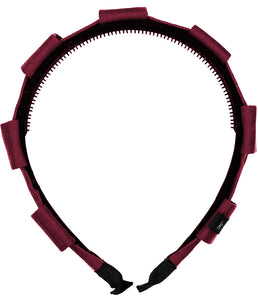 Pirouette Headband // BURGUNDY - KNOT Hairbands