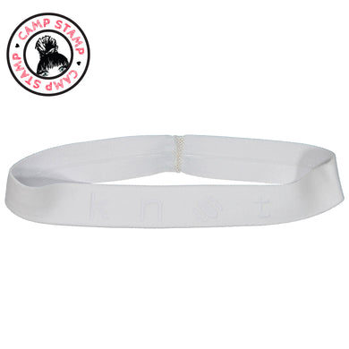 PLAY BAND // Etched Edition // BRIGHT WHITE - KNOT Hairbands
