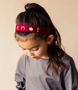 PLAY Band // RUBY RED - KNOT Hairbands