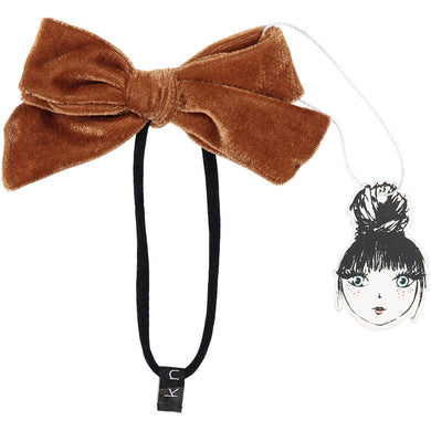 PORTRAIT VELVET BOW BAND - KNOT Hairbands