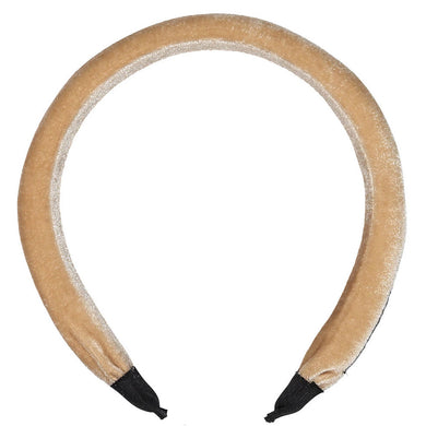 PORTRAIT VELVET HEADBAND - KNOT Hairbands
