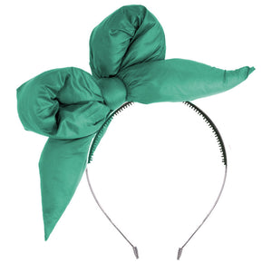 PUFFER Headband // Teal - KNOT Hairbands
