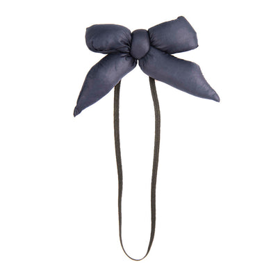 PUFFER Baby Band // Navy - KNOT Hairbands