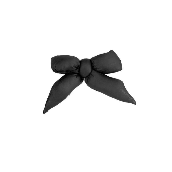 Puffer Bow Clip // Black - KNOT Hairbands