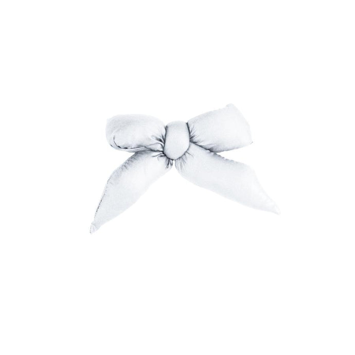 Puffer Bow Clip // White - KNOT Hairbands