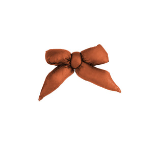 Puffer Bow Clip // Camel - KNOT Hairbands