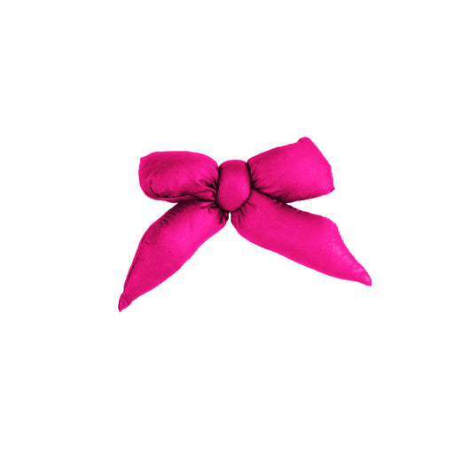 Puffer Bow Clip // Hot Pink - KNOT Hairbands