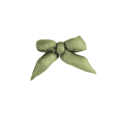 Puffer Bow Clip // Moss - KNOT Hairbands
