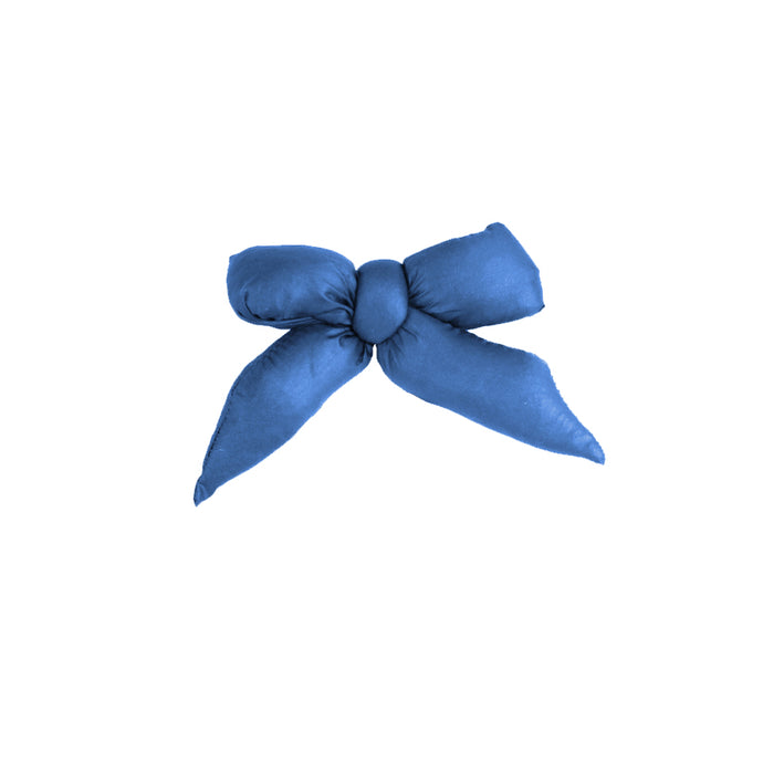 Puffer Bow Clip // Royal Blue - KNOT Hairbands