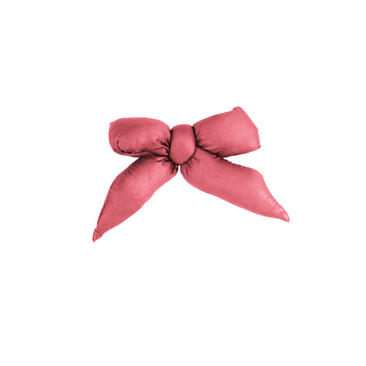 Puffer Bow Clip // Salmon - KNOT Hairbands