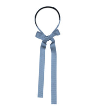 Load image into Gallery viewer, RIBBON Headband // Ocean Blue - KNOT Hairbands