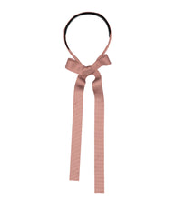 Load image into Gallery viewer, RIBBON Headband // Blush - KNOT Hairbands