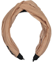 Load image into Gallery viewer, RUCHED KNOT HEADBAND - KNOT Hairbands