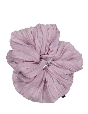 RUCHED JUMBO SCRUNCHIE - KNOT Hairbands