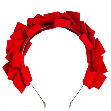 CLUSTER Headband // Red - KNOT Hairbands