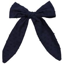 Load image into Gallery viewer, SCARF BOW CLIP - KNOT Hairbands