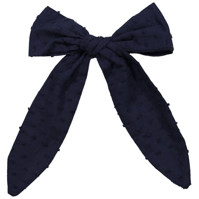 SCARF BOW CLIP - KNOT Hairbands