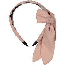 Load image into Gallery viewer, SCARF BOW HEADBAND - KNOT Hairbands