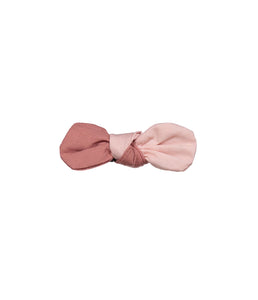 SCOOP BOW CLIP // Pink Lemonade - KNOT Hairbands