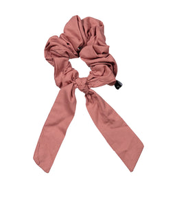 SCOOP BOW SCRUNCHIE // Pink - KNOT Hairbands