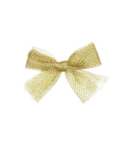 SPRINKLE BOW CLIP // Bright Gold - KNOT Hairbands