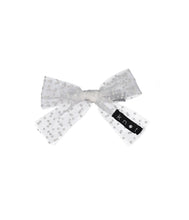 Load image into Gallery viewer, SPRINKLE BOW CLIP // White - KNOT Hairbands