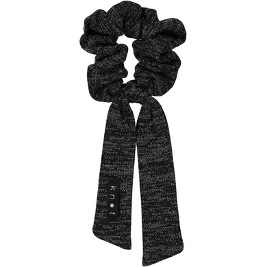SWEATER SCRUNCHIE // Onyx Black - KNOT Hairbands