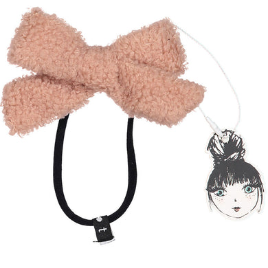 SILHOUETTE BOUCLE BOW BAND - KNOT Hairbands