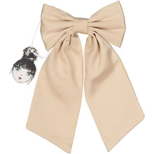 Load image into Gallery viewer, SILK BOW CLIP - KNOT Hairbands