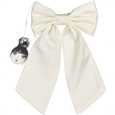 SILK BOW CLIP - KNOT Hairbands
