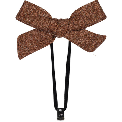 SWEATER BOW BAND // Almond - KNOT Hairbands
