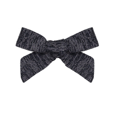 SWEATER BOW CLIP //  Midnight Navy - KNOT Hairbands