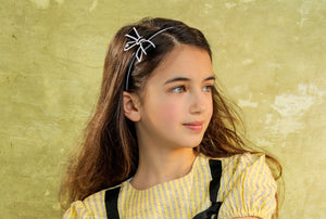SWEET BOW HEADBAND // White - KNOT Hairbands
