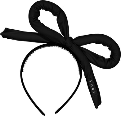 WAVE BOW Headband // Black