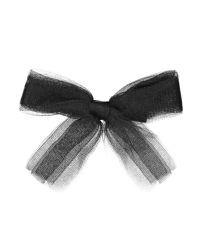 Tutu Bow Clip // BLACK - KNOT Hairbands