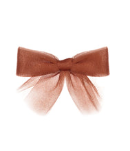 Load image into Gallery viewer, Tutu Bow Clip // MAPLE - KNOT Hairbands