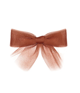 Tutu Bow Clip // MAPLE - KNOT Hairbands