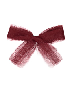 Tutu Bow Clip // POPPY - KNOT Hairbands