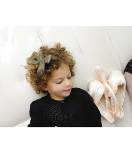 Tutu Bow Clip // BALLET PINK - KNOT Hairbands