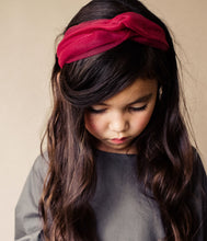 Load image into Gallery viewer, Tutu Turban Headband // POPPY - KNOT Hairbands