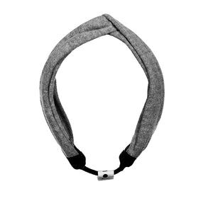 TWISTER Band // SMOKE GREY - KNOT Hairbands