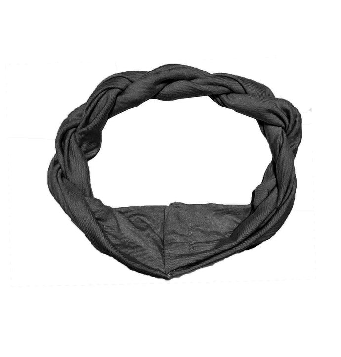 Twist Headwrap // Black - KNOT Hairbands