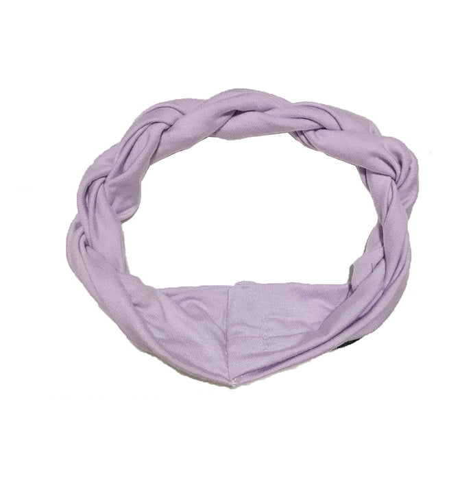 Twist Headwrap // Lavender - KNOT Hairbands