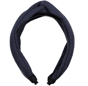 TWISTER Headband // TWILIGHT BLUE - KNOT Hairbands